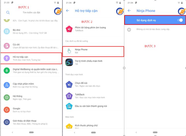 Hướng dẫn cài đặt phần mềm Ninja Phone trên điện thoại